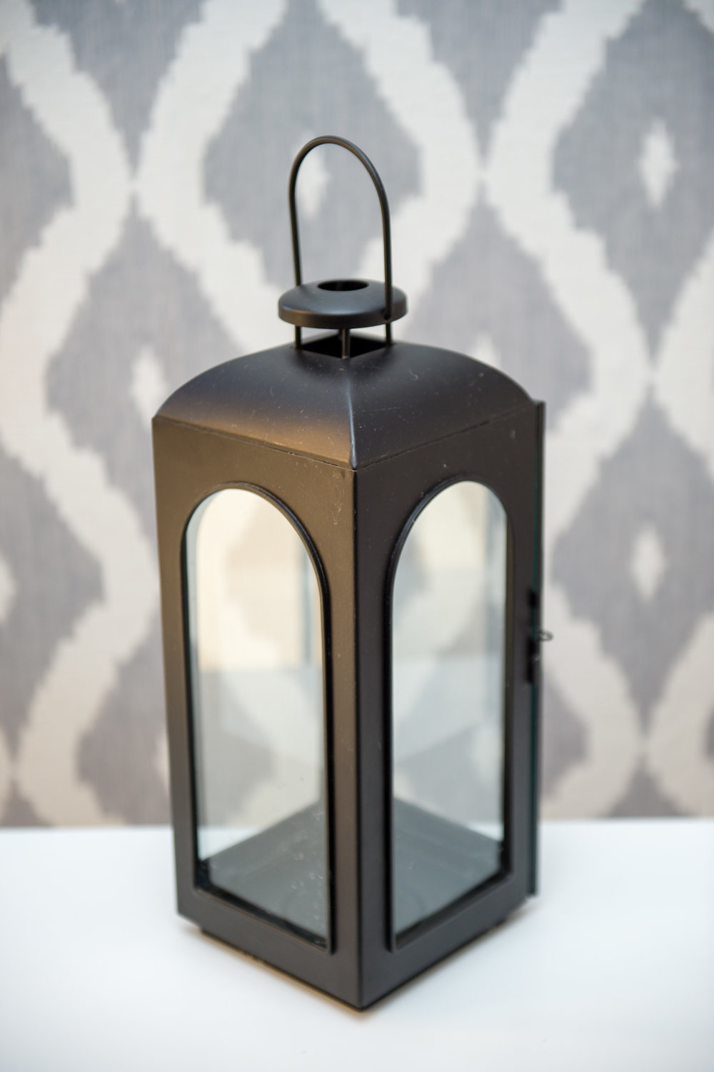 Metal Lantern Rectangle   Reserve Now