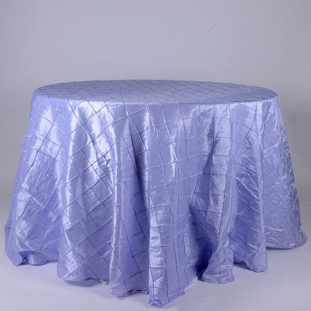 Lavender Pintuck Table Cover   Call to Reserve
