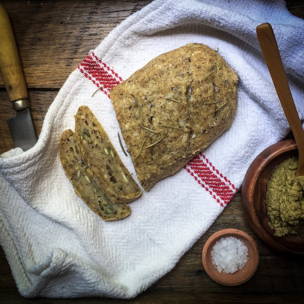 The seeded version is similar to #lifechangingbread in taste.