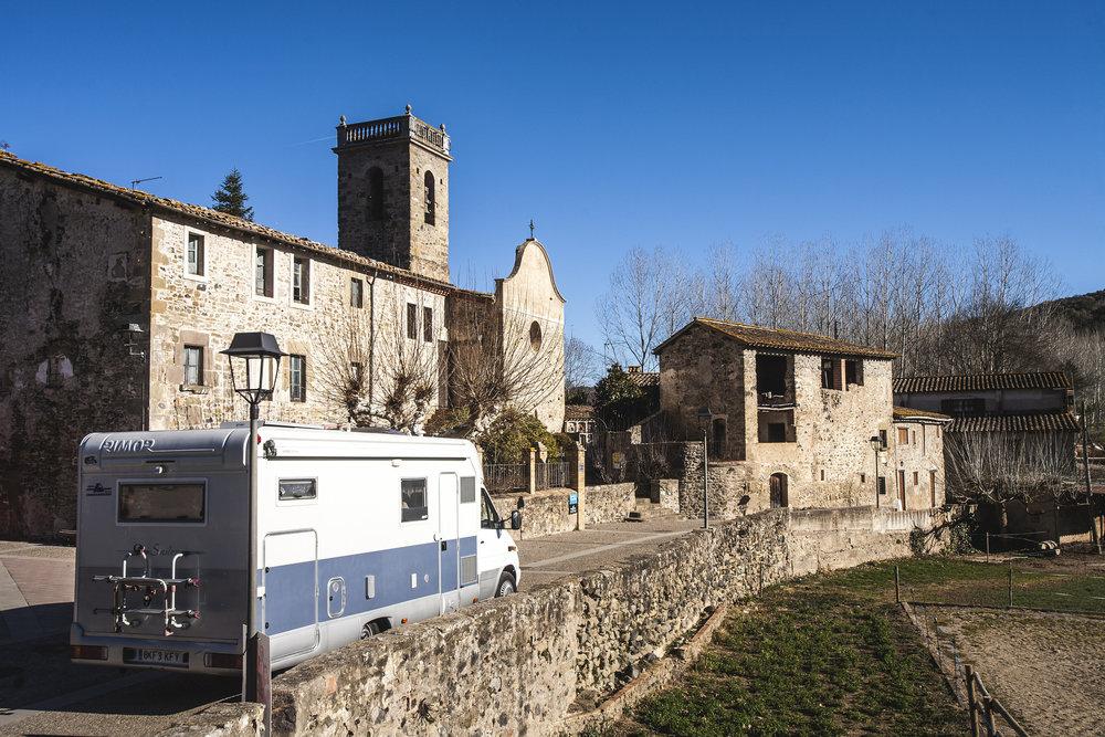 Tata in El Torn, Girona Province, Catalonia.