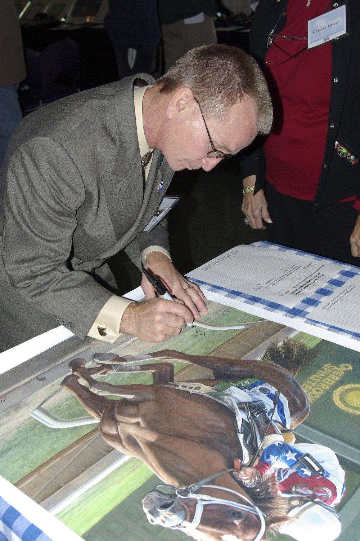 Pat Day Signing Azeri Print
