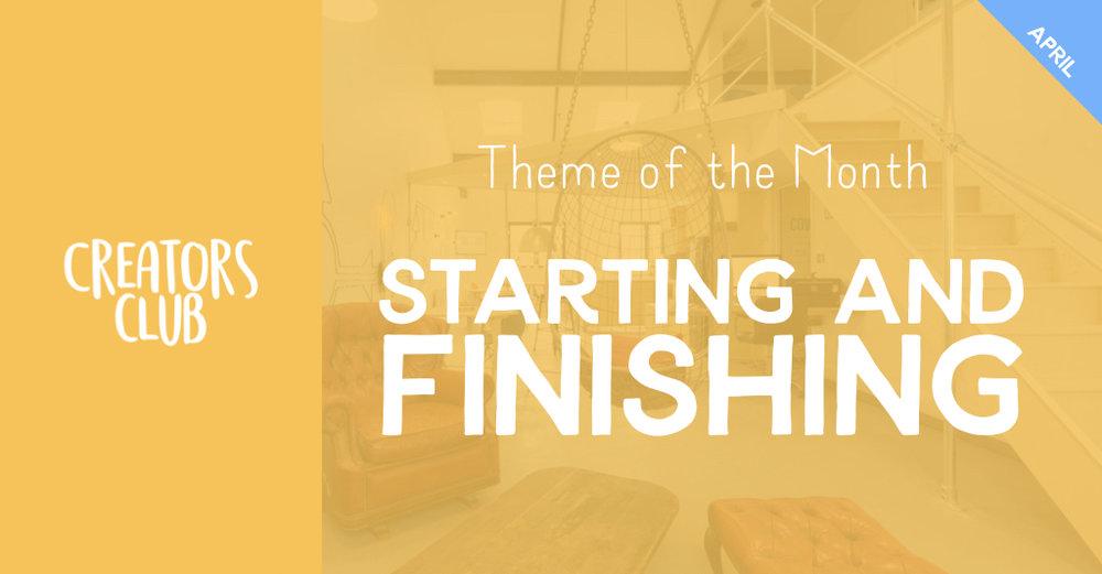 2019 April | Starting and Finishing 1.jpeg