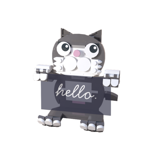 Cat business card holder brickwow cat business card holder colourmoves