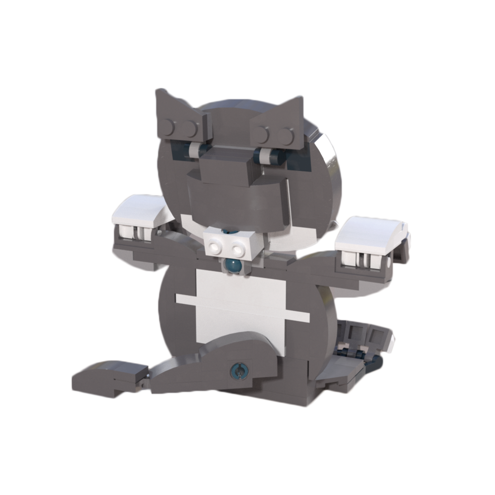 Cat Business Card Holder — BrickWow