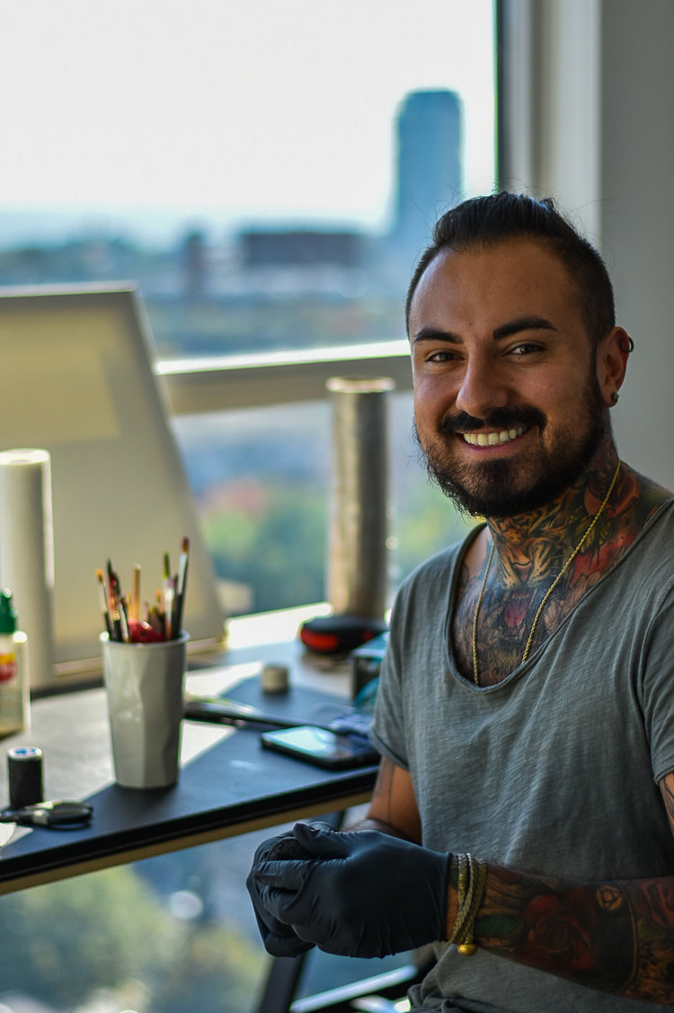 Nico is a watercolour tattoo artist in Toronto. Find him on pick the ink. @inkcanon.