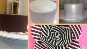 chocolate-ganache-cake-montage