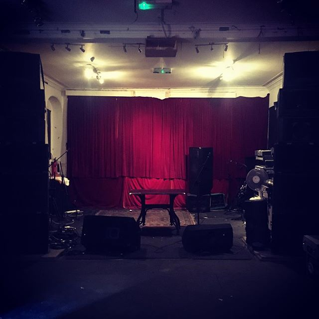 Tonights venue for some #modular #ambient #eurorack NOISE!
