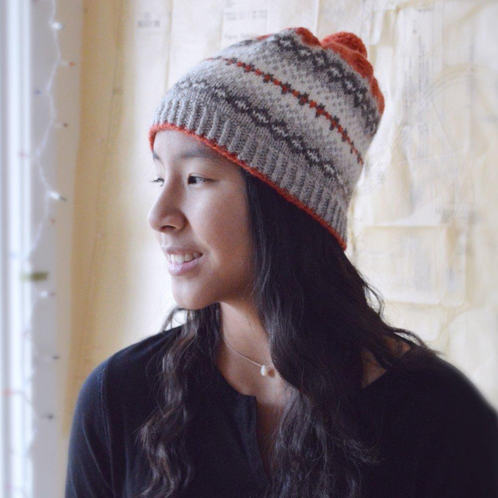 Downy Hat, by Bonnie Sennott