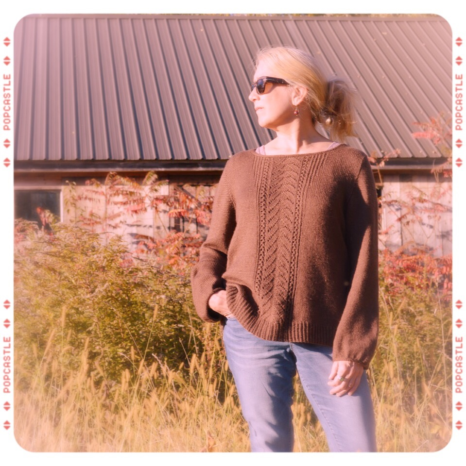 Meadow Road Pullover, by Bonnie Sennott