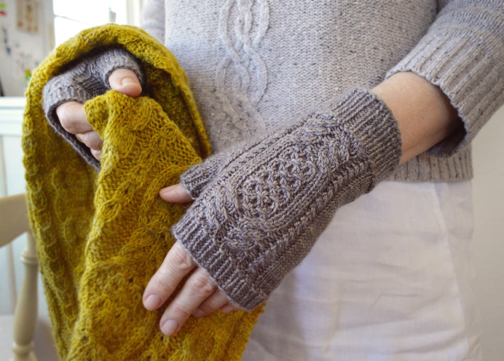 Bay Road Mitts , by Bonnie Sennott
