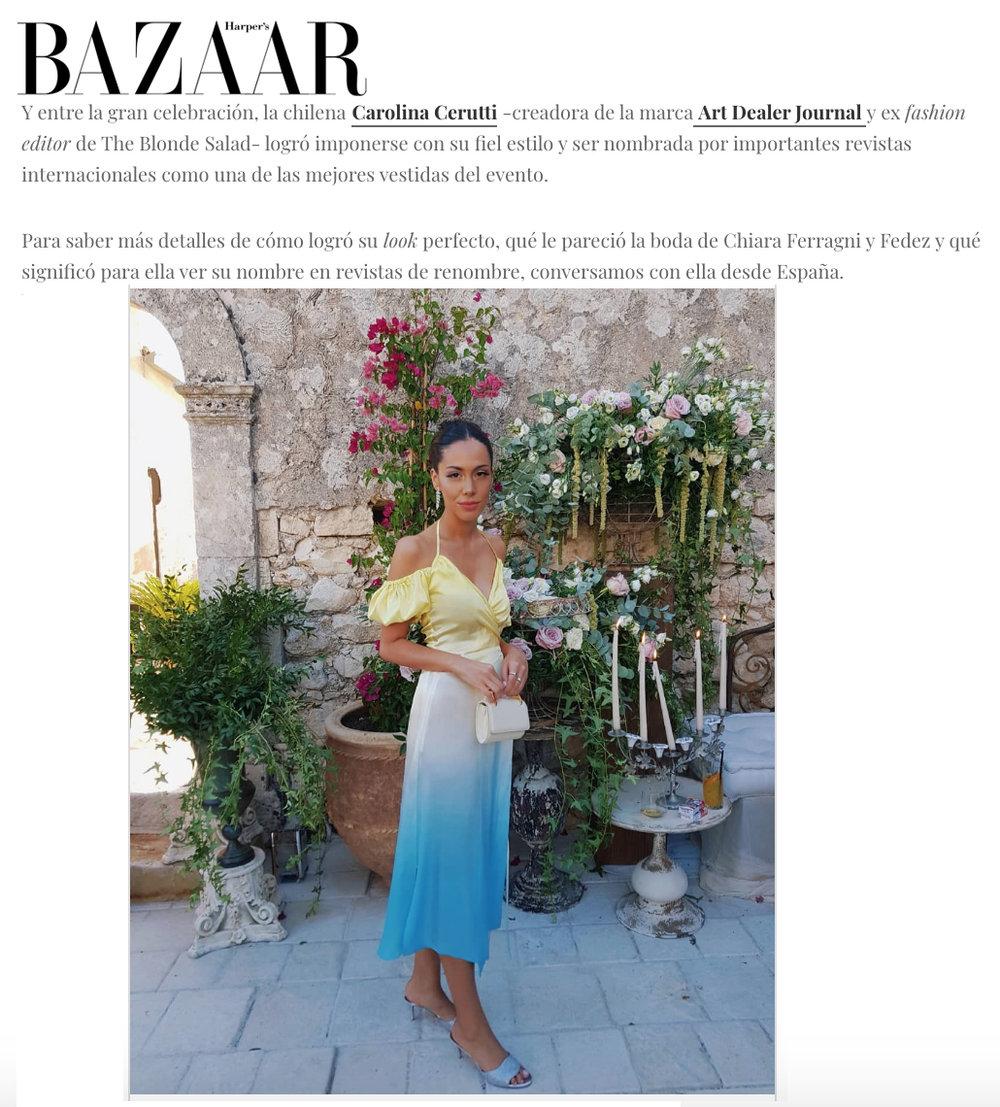 Harper's Bazaar CL