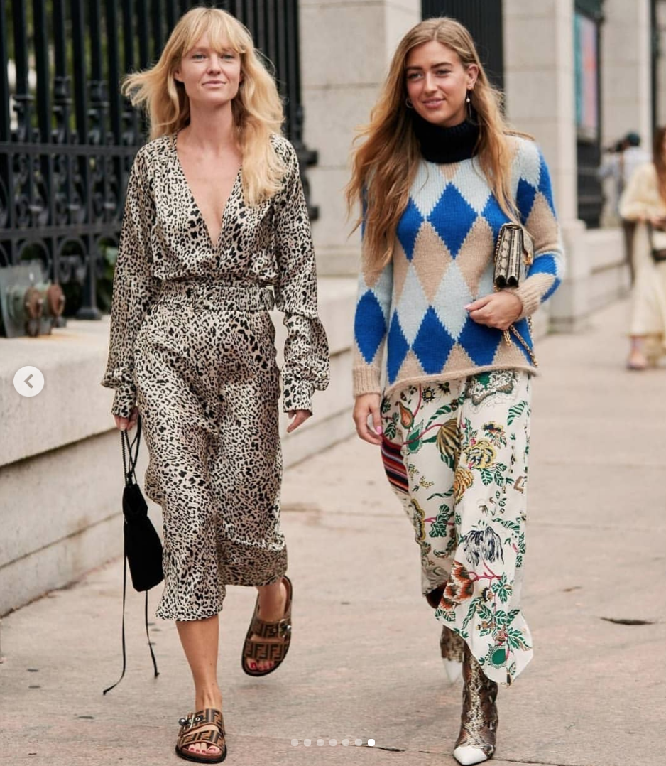 The style talker - street trends