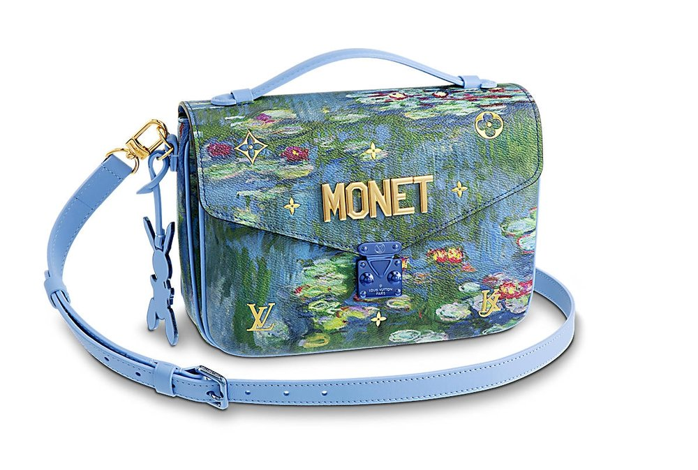 The Pochette Metis in Monet features an adjustable and removable cross-body strap, and retails on the Louis Vuitton website for $3,400.