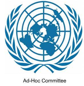 ICAC - In 1996 The General Assembly decided to establish an Ad-Hoc committee to elaborate an international convention for the suspension of terrorist bombing. Subsequently the Ad-Hoc committee was established which works on the understanding that all proposals remain on the table and 'nothing is agreed until everything is agreed.' The committee is open to all member states of the UN or members of specialized agencies or of the International Atomic Energy Agency. (IAEA).In case a Crisis situation arises that poses a threat to the national security of nations, the Ad-Hoc committee is called upon. This committee works in real time as the crisis unfolds.