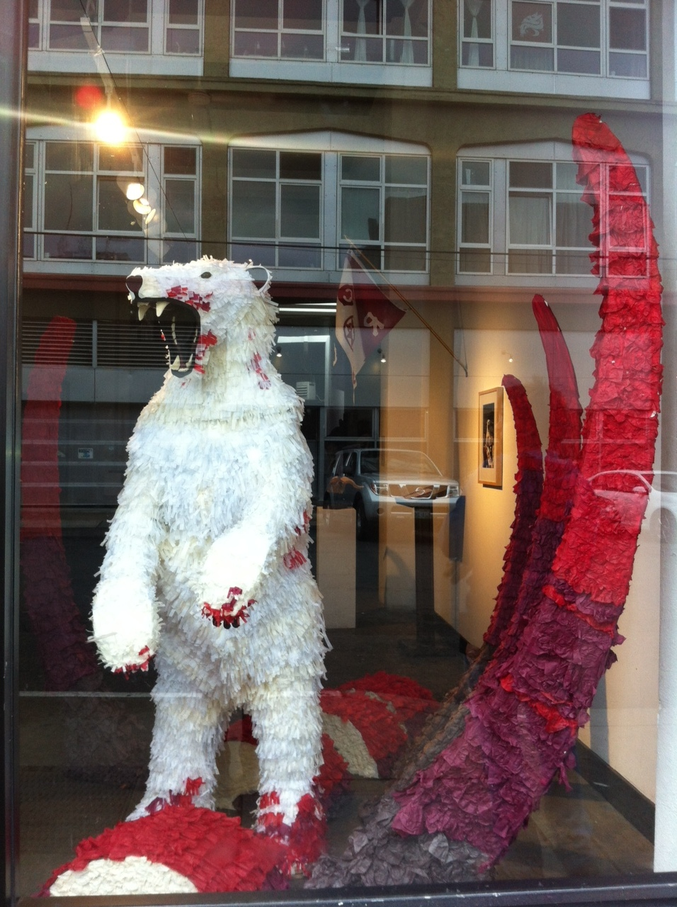 The Bear and the Whale Vermillion Gallery 2012