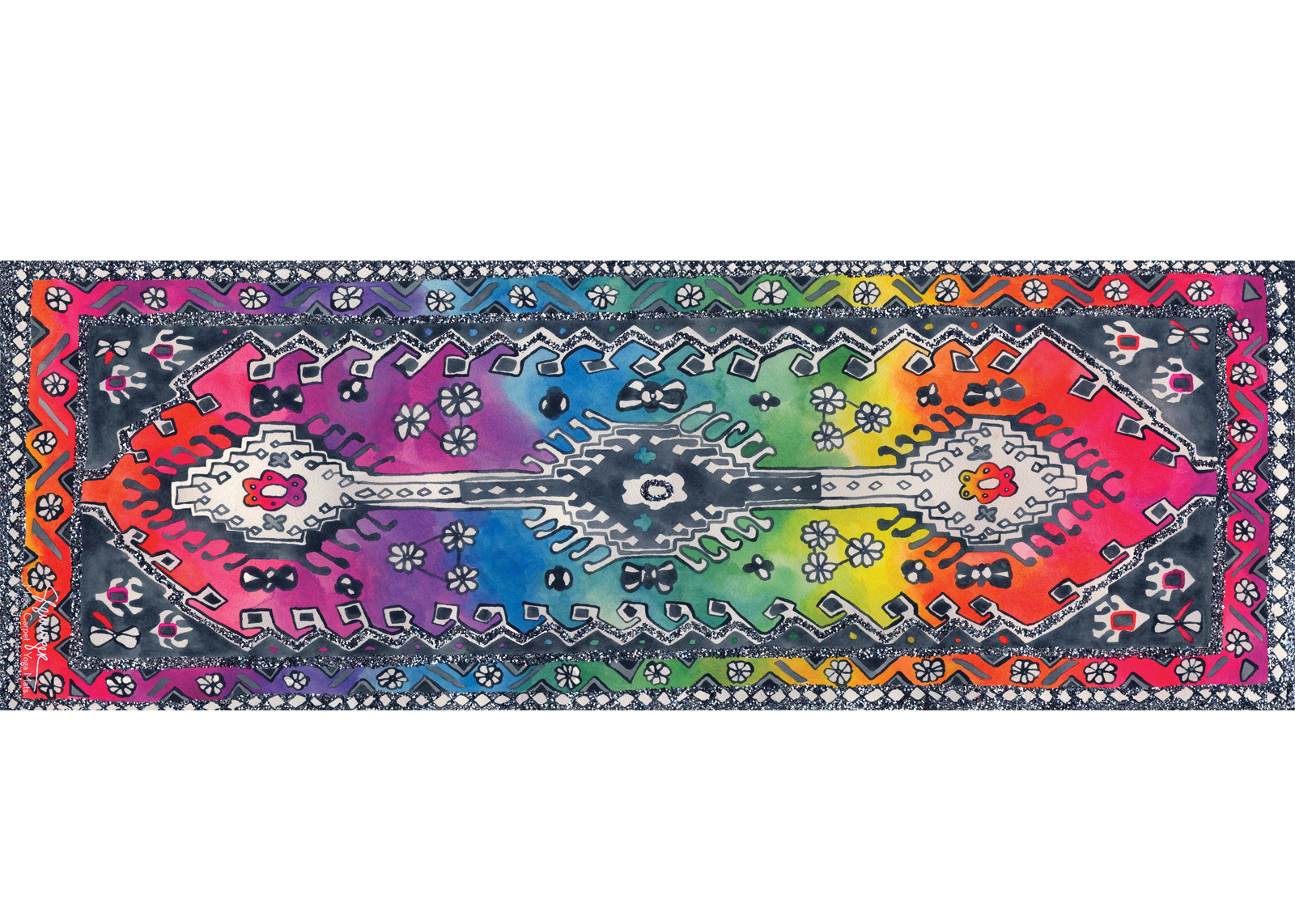 Adult Rainbow by Magic Carpet Yoga Mats