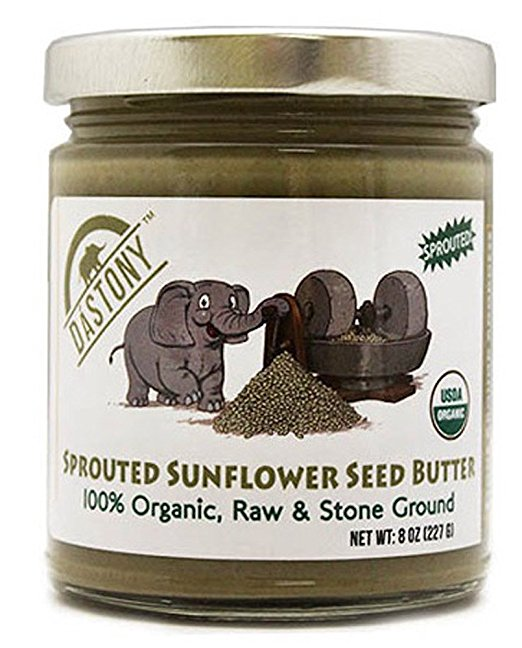 Sprouted Sunflower Butter