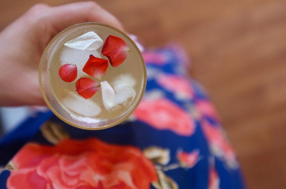 Rose + Raspberry Tea