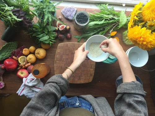 Choosing balancing remedies is easy when you have the HERBS + foods you need Handy. -