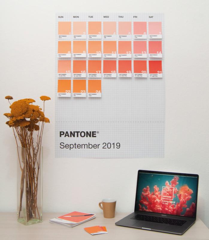 PANTONECalendar 2019 -