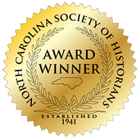 2006 Willie Parker Peace History Book Award, North Carolina Society of Historians