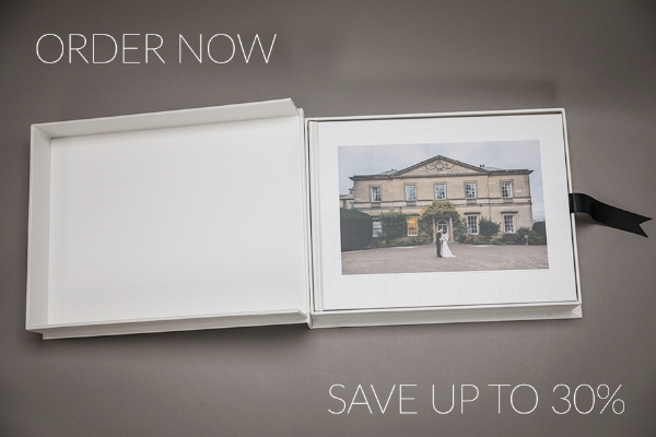 Want to pay less for your wedding photo album?  Pre-Order Now and Save