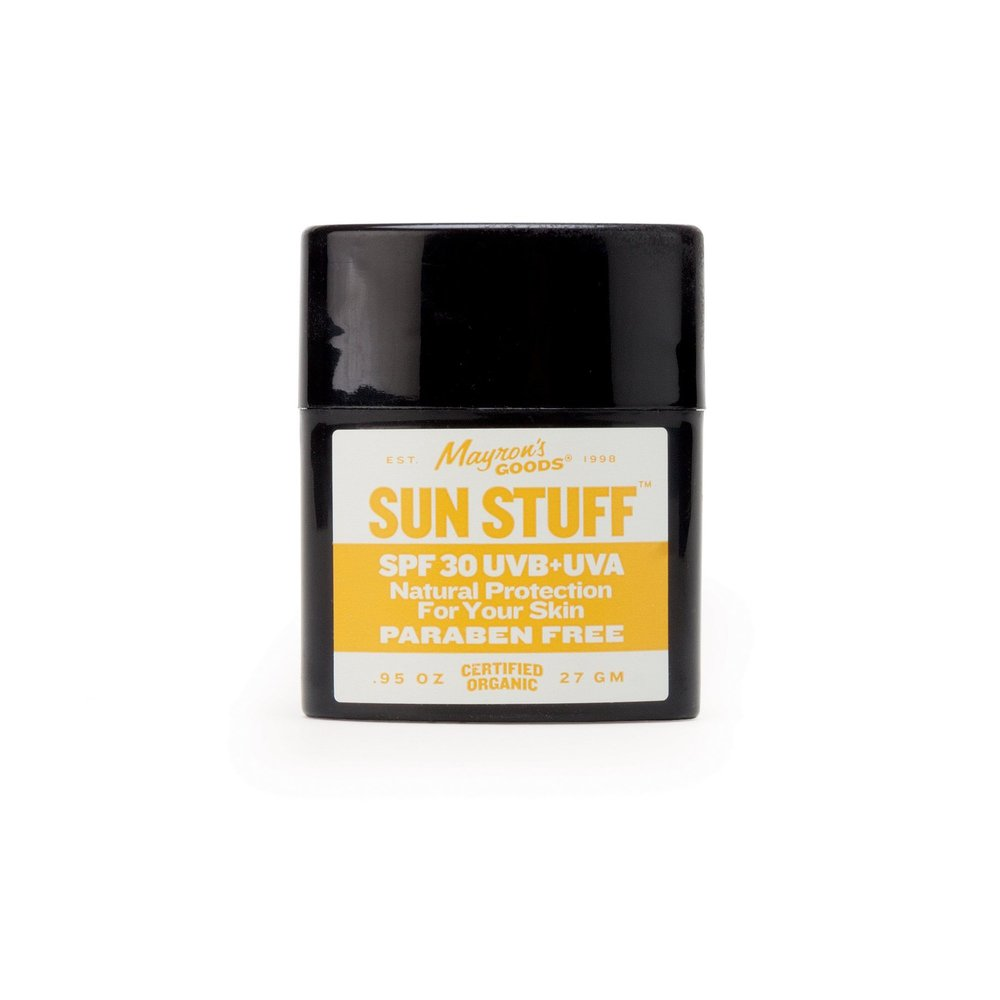 Sun protection for skin perfection - $24 - This power packed Zinc sunblock is a thoughtful small gift for the everyday surfer. Broad UVA/UVB protection. Goes on smooth and a great coconut scent.Get it on CURIO