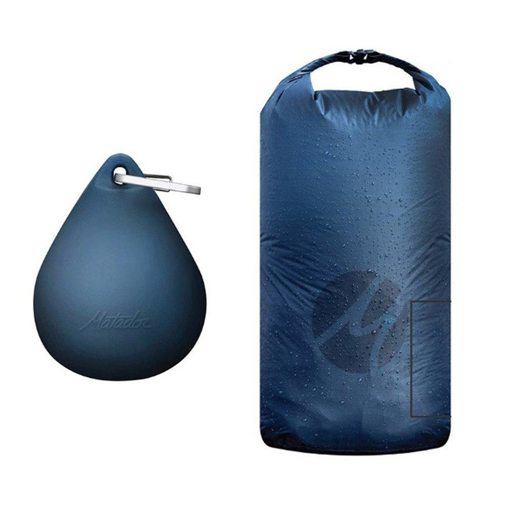 KEEP 'EM DRY - $40 - This ultralight dry bag is perfect for keeping your gear dry or storing a wetsuit after surfing. Packs down to fit into an absurdly awesome silicone droplet storage case and aluminum carabiner.Clip it on your beach bag, or keep it on your keychain.Find it on CURIO