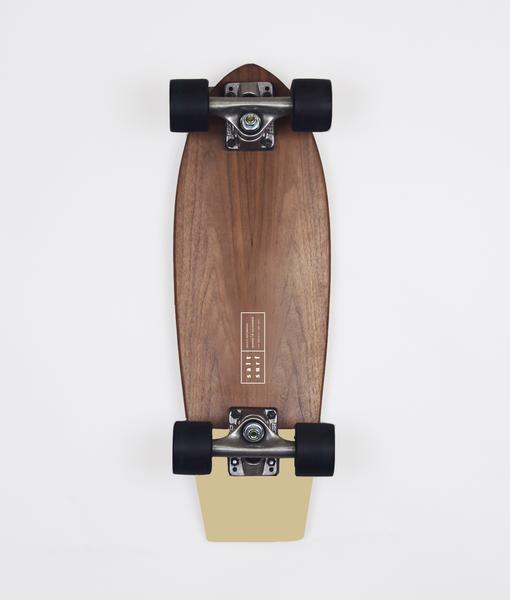 Shred on land - $182 - Possibly the most beautiful skateboard ever made. This walnut cruiser is a no-brainer for your stylish surf friend.Find it on CURIO