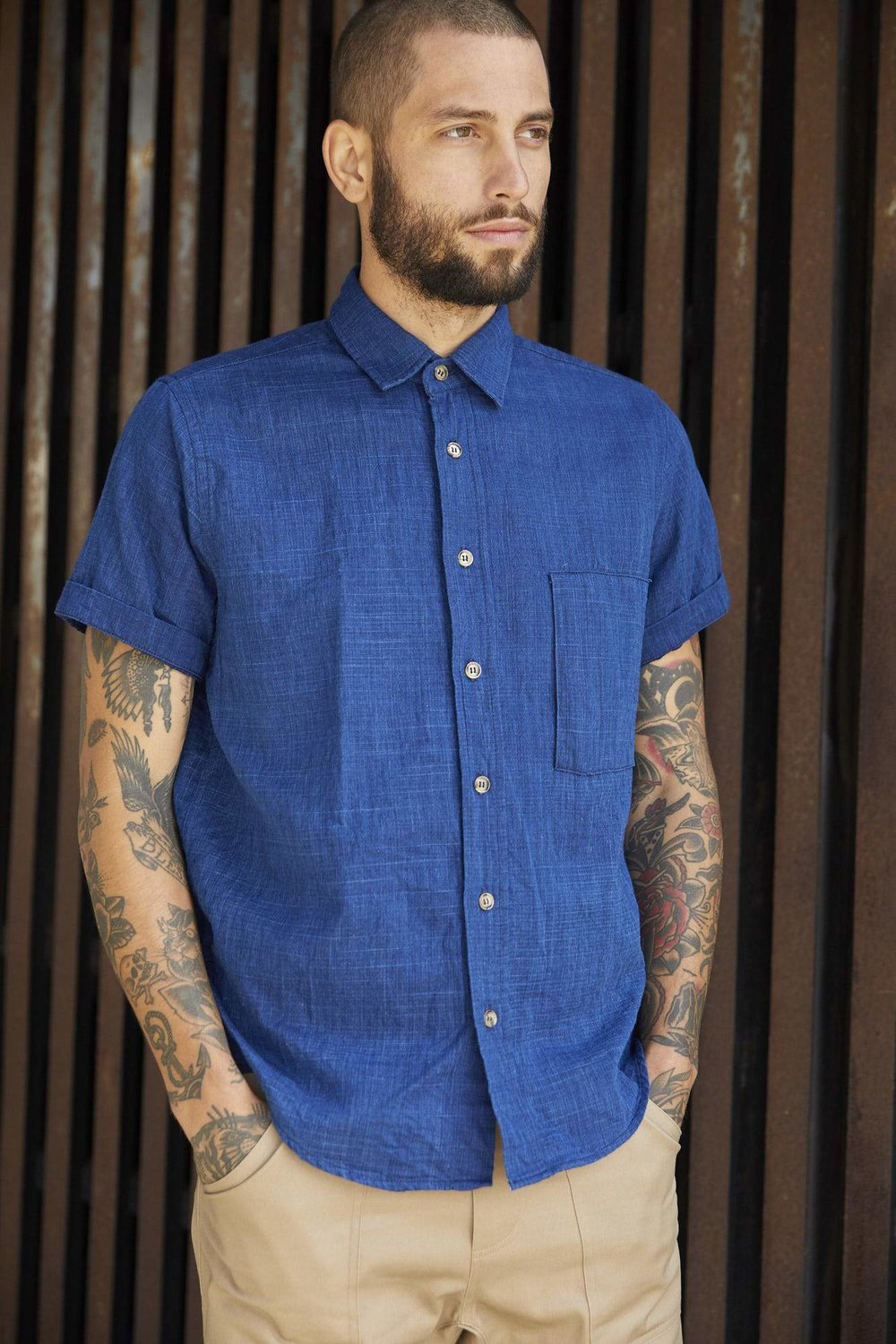 Kaiyo Button Up - $120