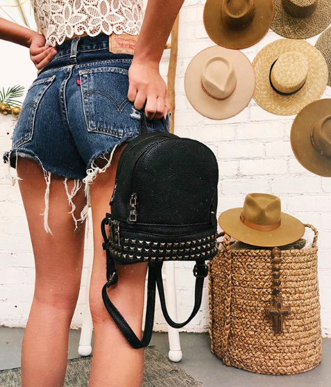 Black Take Me To The Desert Backpack from 12th Tribe