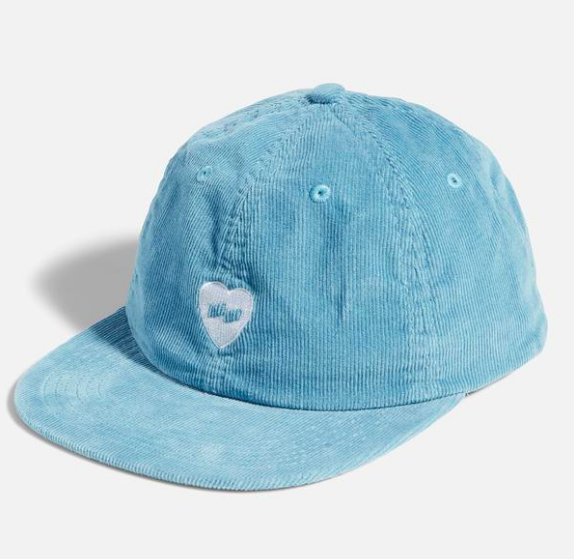 Heart Hat in Glacier Blue from Banks Journal