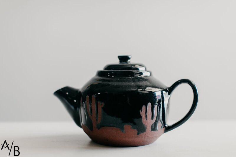 Cactus Tea Kettle Arora Boheme
