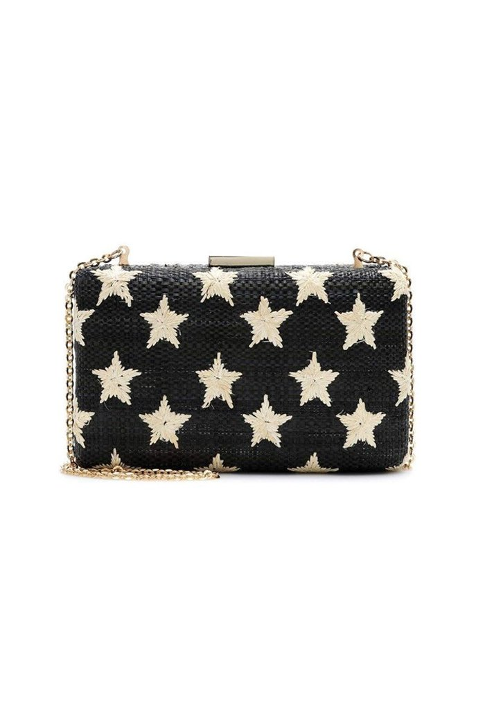 Black Star Clutch from Brigitte & Stone