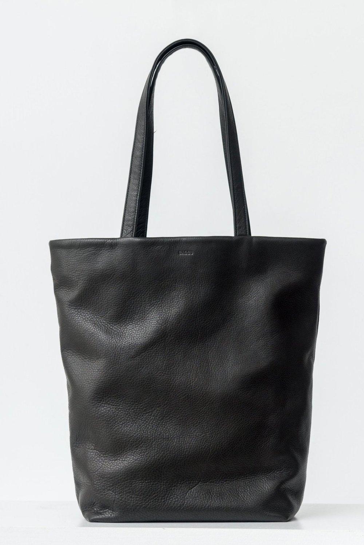Baggu Basic Leather Tote - $200