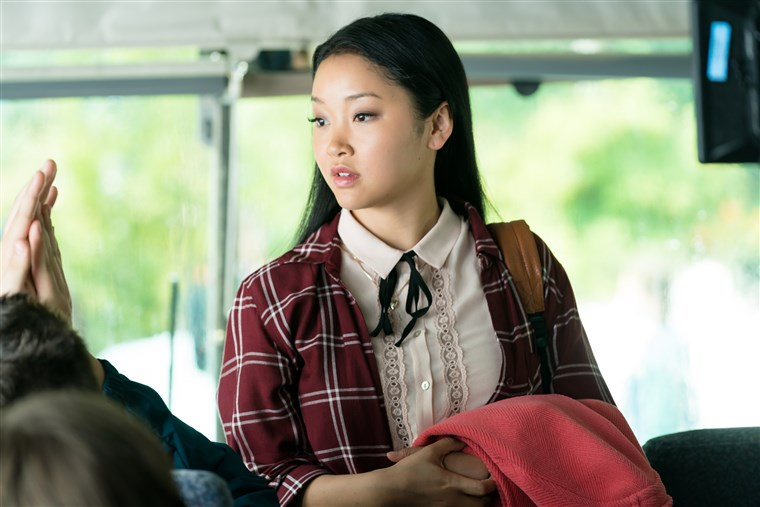 ..she was on her way home from the ski trip - On a trip or spending time with your fake bae? You still gotta look cute like Lara Jean.