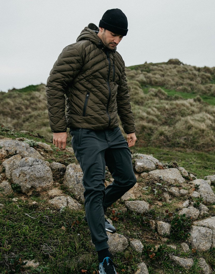 THE NATURE LOOK - Rarely seen in the city, most men who love the outdoors also dress the part.