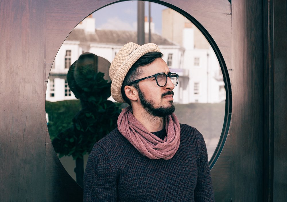 THE HIPSTER LOOK - The creative hipster. You're often working in coffee shops like Blue Bottle or Intelligentsia, enhancing your photography portfolio and enjoying art. You need an outfit that goes with you on your creative journeys.