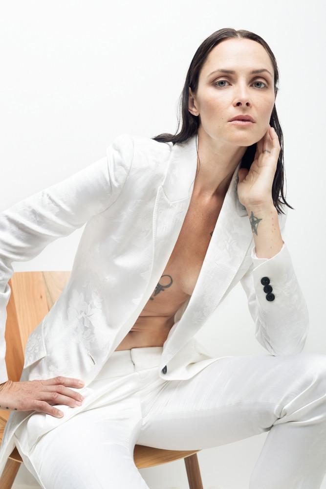 White Tailored Blazer - $470