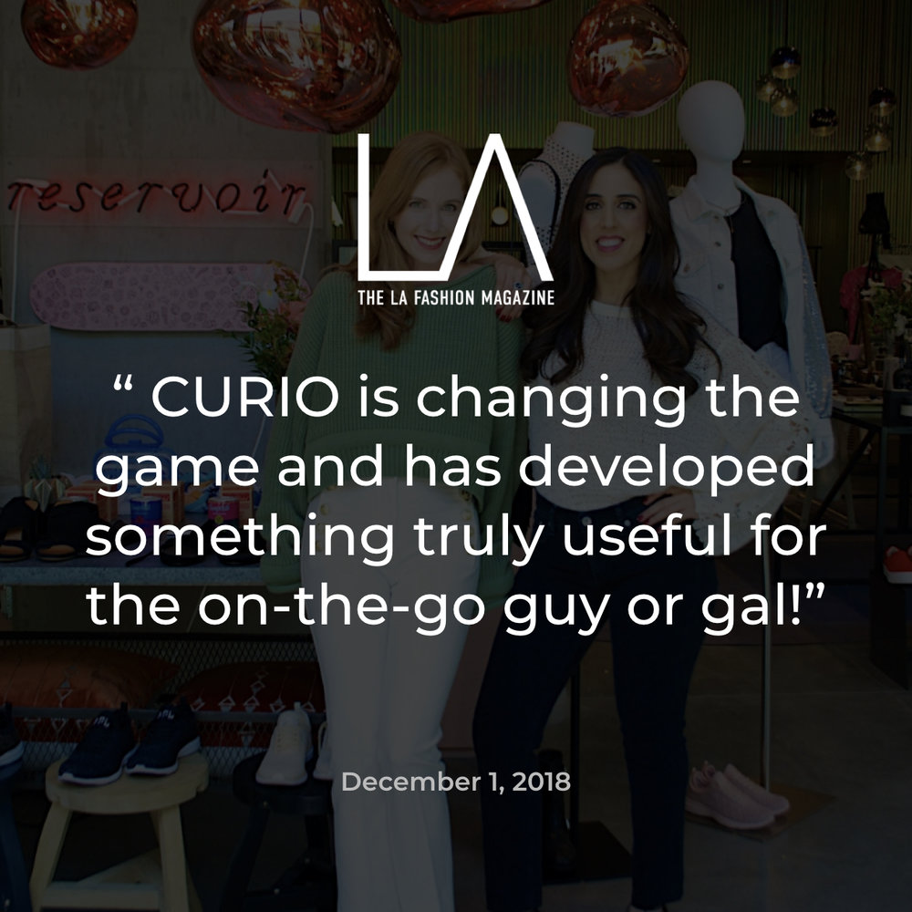 LA Fashion Magazine CURIO
