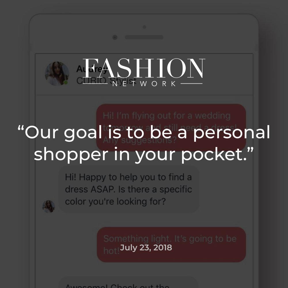 Fashion Network CURIO