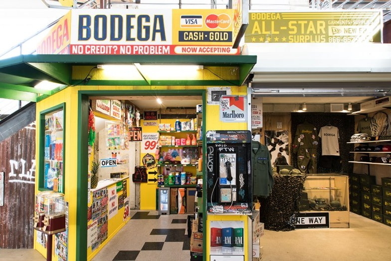 """BODEGA - Known for being """"hidden in plain sight,"""" Bodega is recognized as one of the top streetwear boutiques in the world. With only two stores in LA and Boston, the experience of finding it makes the visit worth the while.Try to locate it at ROW in Downtown LA."""