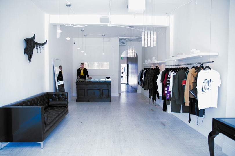 """FOURTWOFOUR - FourTwoFour was founded by a collaboration to create a boutique experience that features revolutionary design in fashion, lifestyle, and art. The store is described as """"a salon environment inspired by cities like Paris and New York.""""Next door to Melody Ehsani on Fairfax in West Hollywood."""