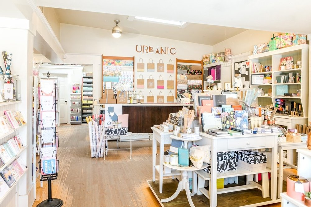 URBANIC - What you'll find: a curated selection of unique stationery, wrapping papers, wedding invitations, desk accessories and specialty gifts.Venice: 1644 Abbot Kinney Blvd, Venice, CA 90291