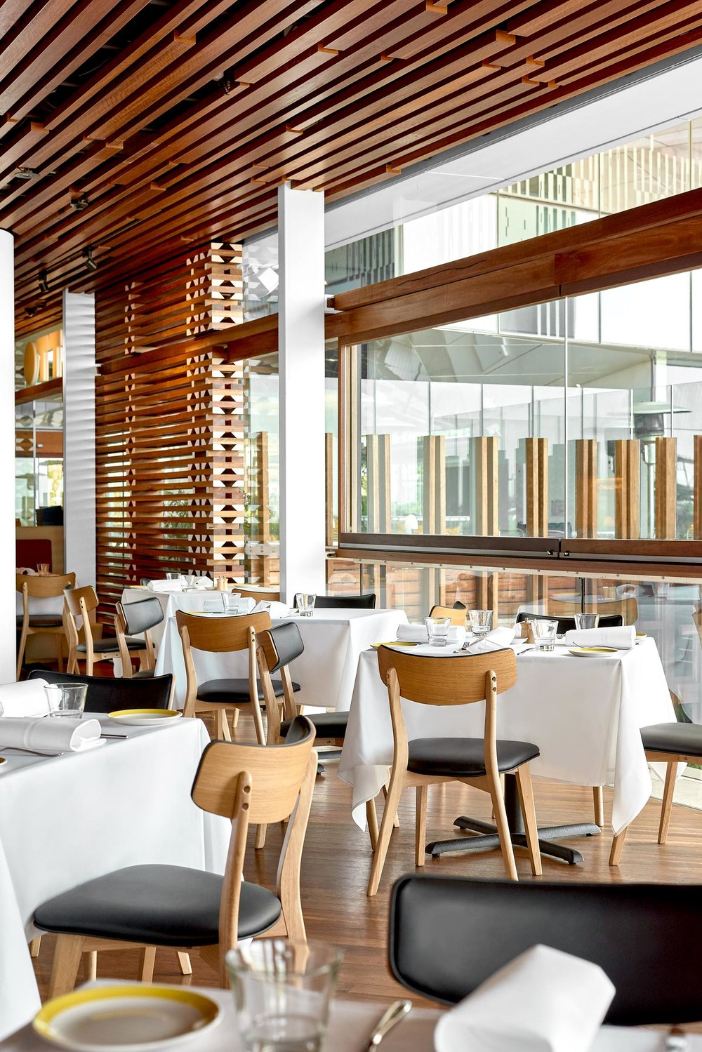 Architectural Interior OTTO Restaurant - Brisbane Advertising Photography, Brisbane Commercial Photography.jpg