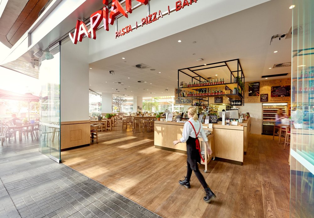 Architecture Toowoomba Vapiano Restaurant - Brisbane Advertising Photography, Brisbane Commercial Photography.jpg