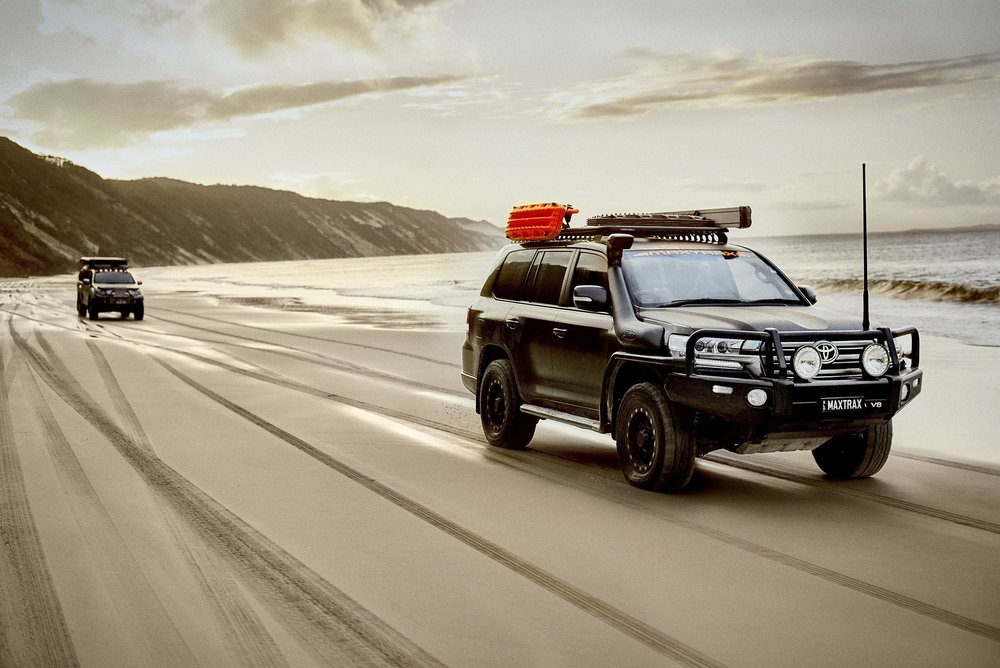 4WD Beach Sunset - Brisbane Advertising Photography, Brisbane Commercial Photography.jpg