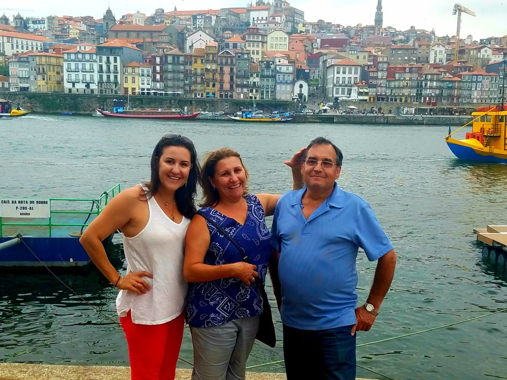 Coming home, and enjoying the best of Porto with mom and dad.