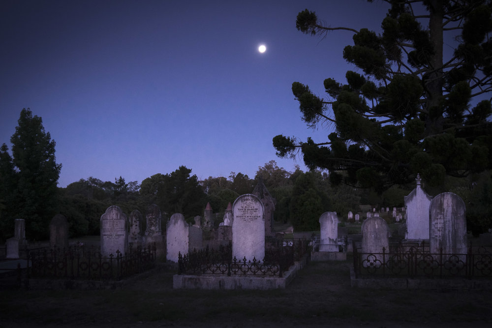 Beechworth's historic cemetery
