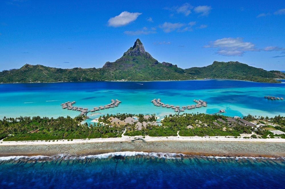 Photos courtesy of InterContinental Bora Bora Resort & Thalasso Spa
